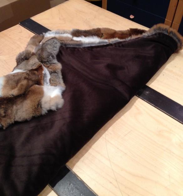 Chinchilla Baby Blanket