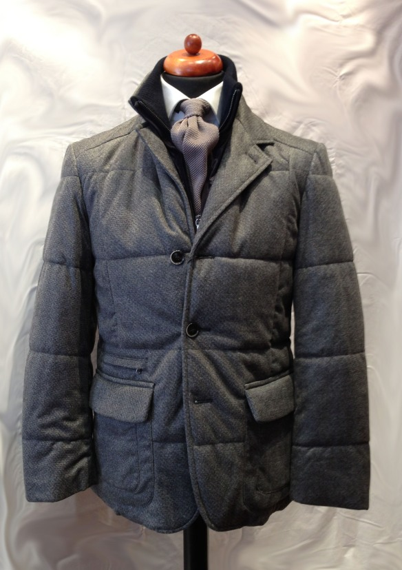 Microfibre Jacket with Insert
