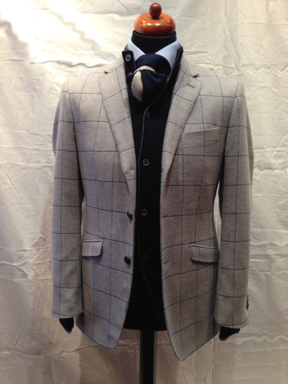 Merino/Angora Jacket - Made to Measure