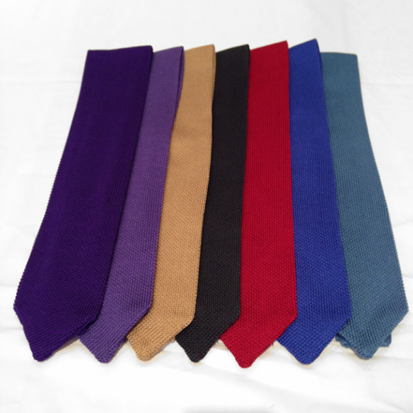 Silk Knitted Ties - More colours to come