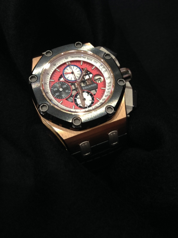Audemars Piguet - Rubens Barrichello III - Limited Edition 257 pieces in Rose Gold