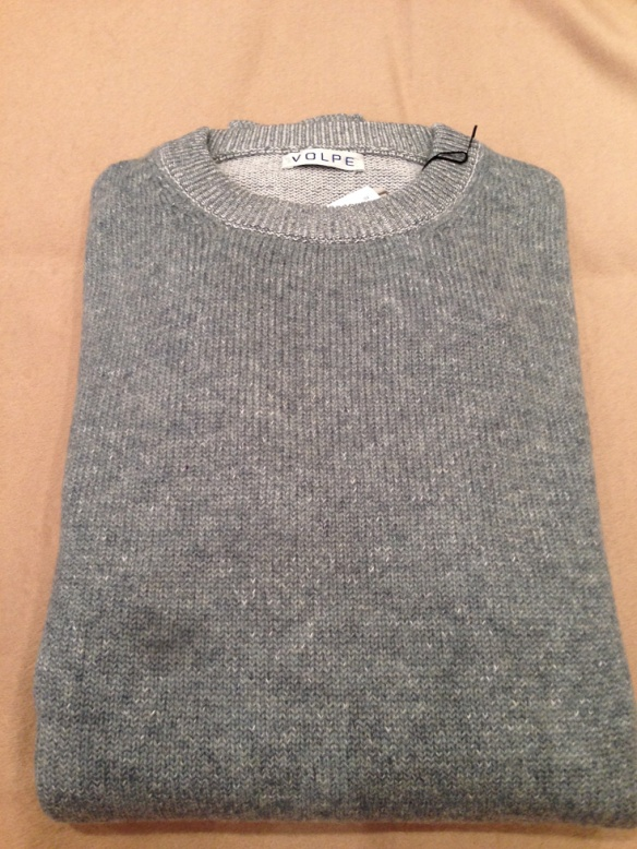 Grey Cotton and Cashmere