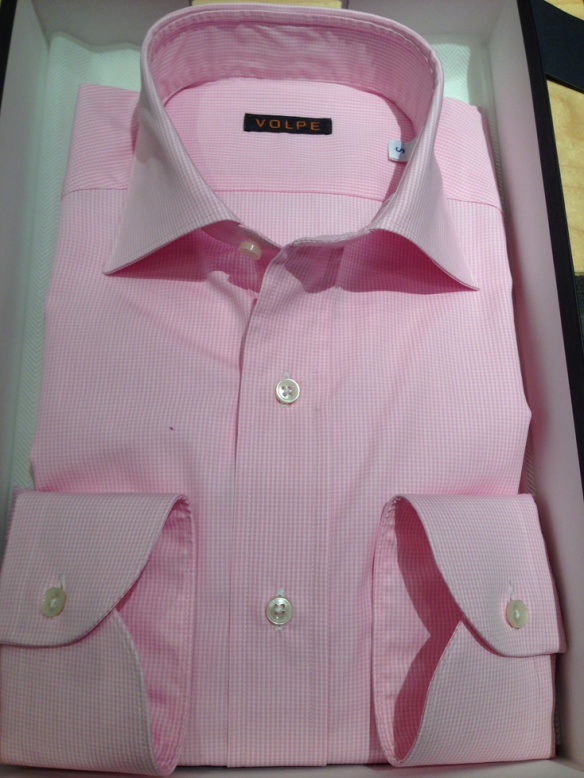 Pink Gingham Check Cotton