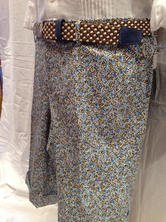 Blue Flower Short 1