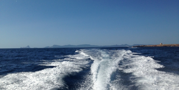 Headed for Formentera