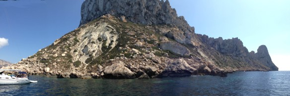 Swimming at Es Vedra