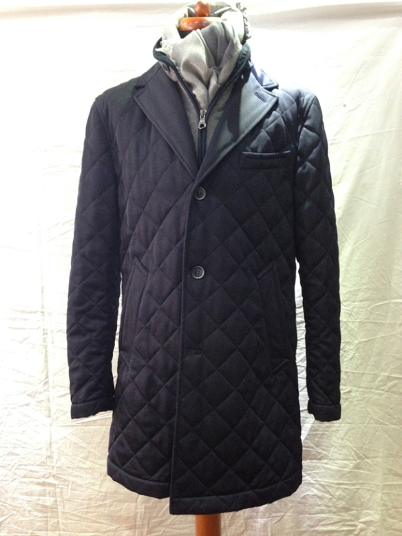 Microfibre Coat - with removable liner