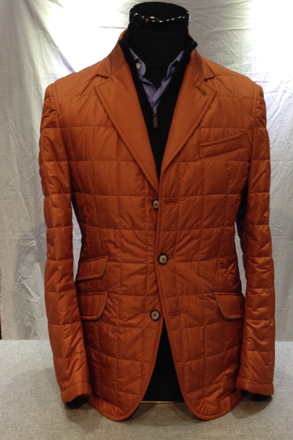 Orange Nylon Quilt