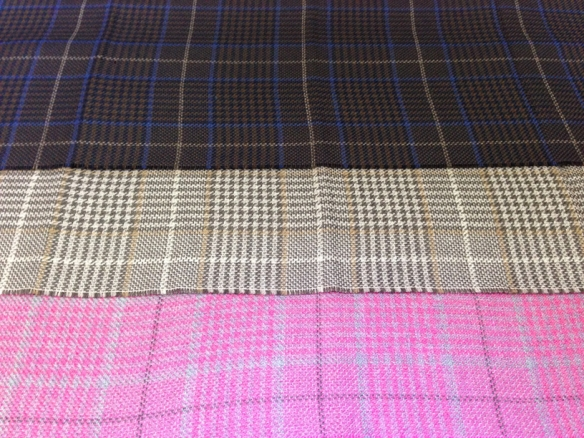 Prince of Wales check scarves