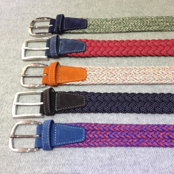 Assorted stretch belts