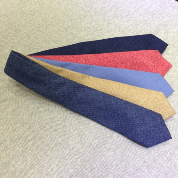 Silk (30%), Wool (35%) & Cotton (35%) Ties