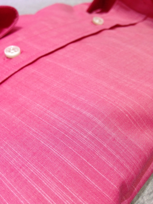 Pink cotton (100% cotton) - close up
