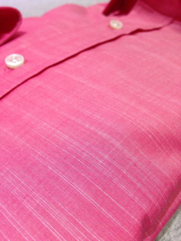 Pink cotton (100% cotton) - close up
