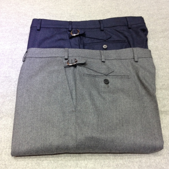 Super 120s Midweight Flannel Trousers