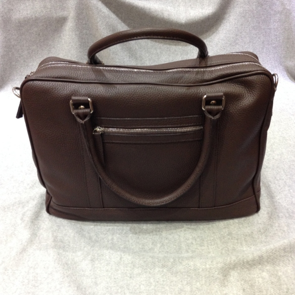 Dark Brown Calfskin Briefcase