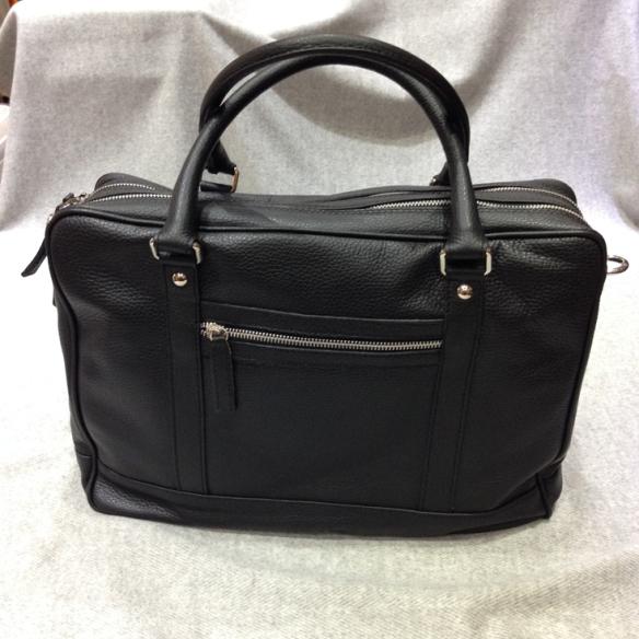 Black Calfskin Briefcase