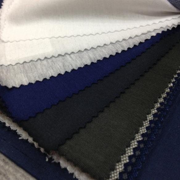 White, Off White, Light Grey, Blue, Dark Green, Green Cotton Jersey (100% Cotton)