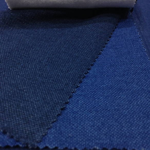 Denim Blue Pique (100% Cotton)