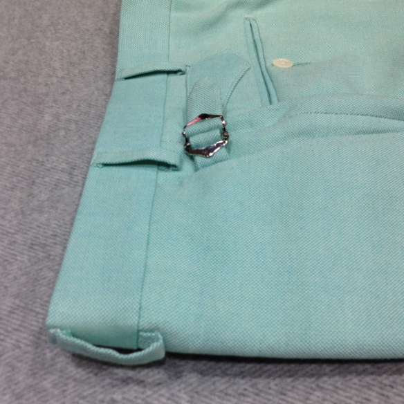 Mint Green Cotton Trousers £165