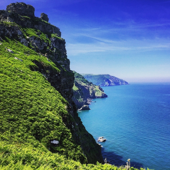 Valley of the Rocks - The South West Coast Path