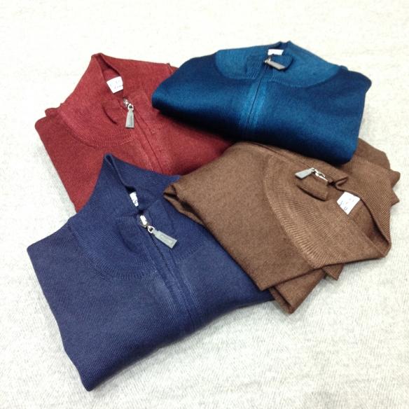 Merino Wool Full Zip cardigan