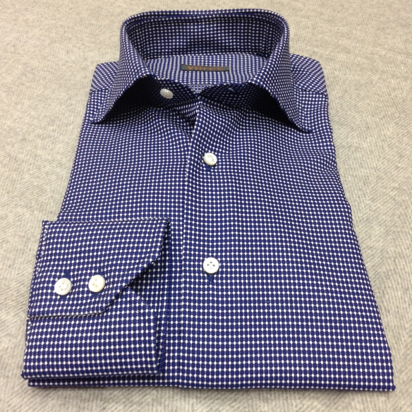 Dark Blue with White Shirt