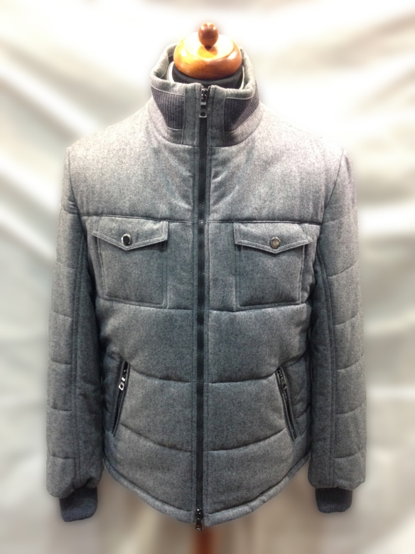 Grey Wool Blouson
